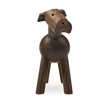 Dog Tim made of dark wood by the Danish Kay Bojesen