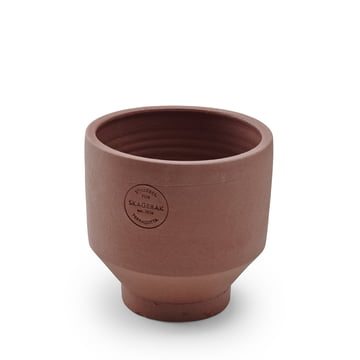 Outdoor Edge Planting Pot Ø 18 cm by Skagerak in burned red