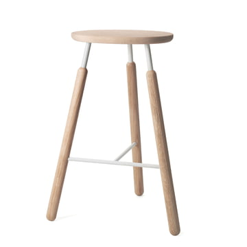 &Tradition - Raft Stool NA4 Barstool, natural oak