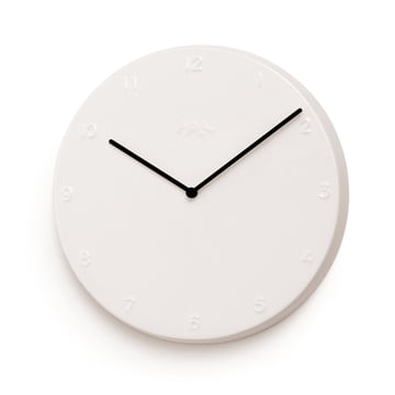 Kähler design - Ora wall clock 30 cm in white