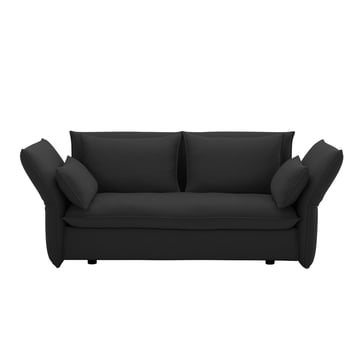 Mariposa Sofa 2-seater by Vitra in Laser dark grey