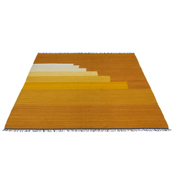 Another Rug AP4 carpet by &Tradition in yellow amber