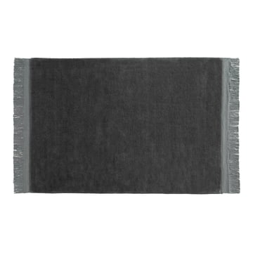 Hay - Raw rug 170 x 240 cm in anthracite