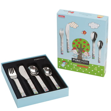 One Ferme kids cutlery from Puresigns (4 pcs.)