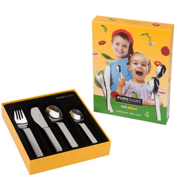 One Mini kids cutlery from Puresigns (4 pcs.)