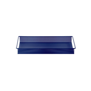 Metal Tray Small by ferm Living in Blue