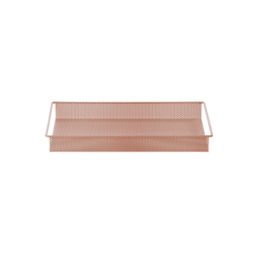 Metal Tray Small by ferm Living in Pink