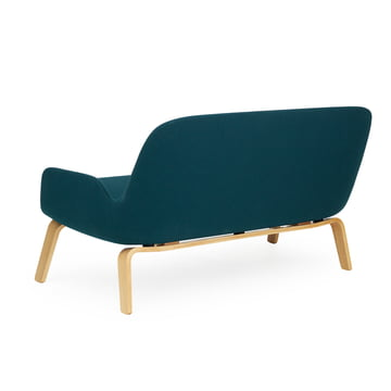 Era Sofa by Normann Copenhagen made from oak in Fame Hybrid turquoise