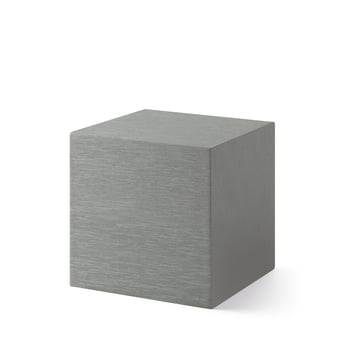 Alume Cube Clock with LED display from the MoMA Collection