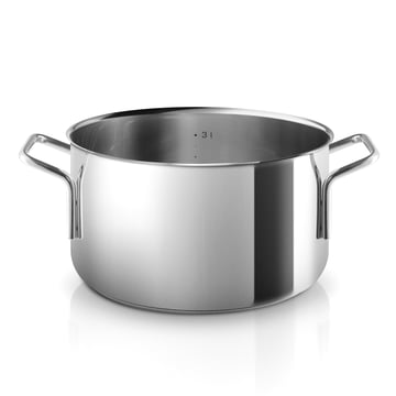 Stainless steel pot with a capacity of 3.6 L by Eva Trio