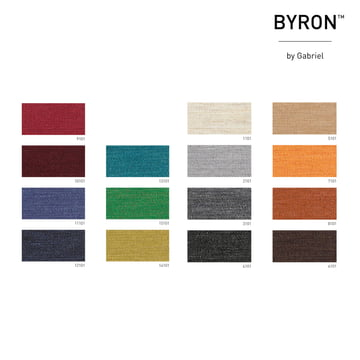 Fabric sample Byron by Gabriel