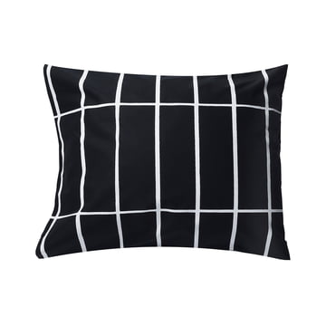 Tiiliskivi pillow cover 65 x 65cm by Marimekko in black / white