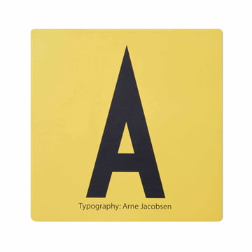 Design Letters - AJ Memory Game, tile A
