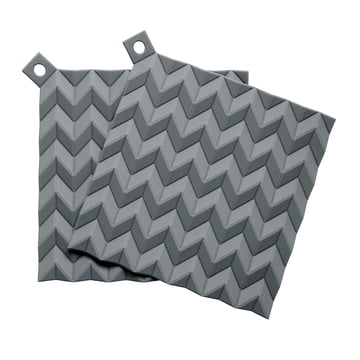 Rig-Tig by Stelton - Hold-On Potholder Set (set of 2), grey