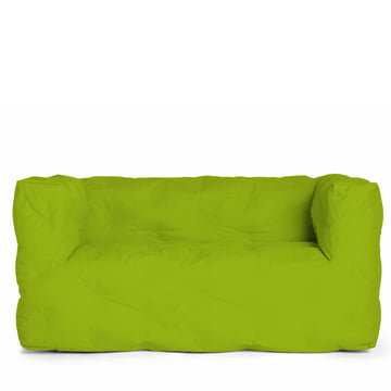 Couch I 2 seater by Sitting Bull in green