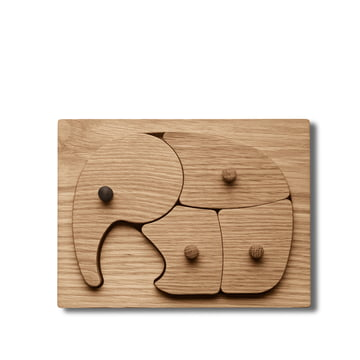 Elephant Puzzle by Georg Jensen