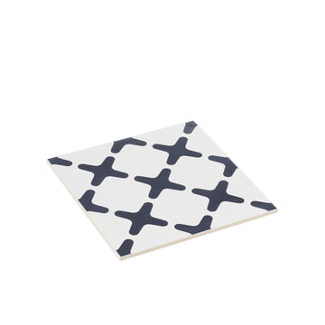 by Lassen - Exes trivet small, navy blue