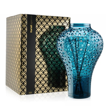 Diffuser Ming by Kartell in blue with the scent Portofino