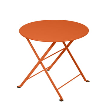 Tom Pouce Low Table in carrot by Fermob.
