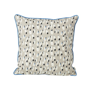Spotted Cushion 50 x 50 cm by ferm Living in Grey