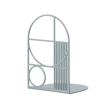 Outline Bookend by ferm Living in Light Blue