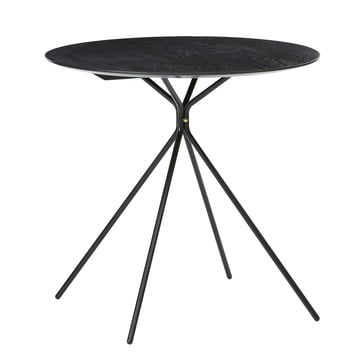 Herman Café Table by ferm Living in Black
