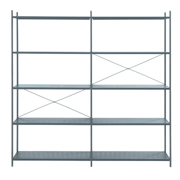Punctual Shelving System 2x5 by ferm Living in Dark Blue