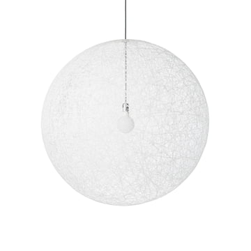 Random Light LED Suspension Lamp in M by Moooi in white