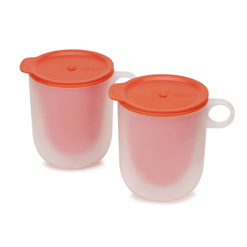 Set of 2 M-Cuisine Cool-touch Microwave Mugs by Joseph Joseph