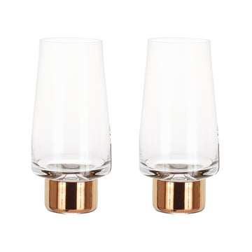 Set of 2 Tank High Ball Glass by Tom Dixon