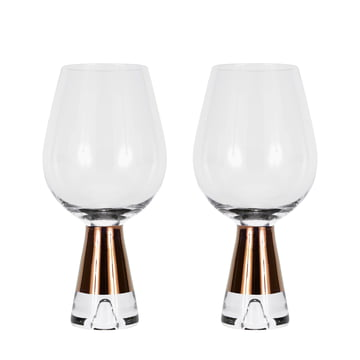 Set of 2 Tank Wine Glass by Tom Dixon