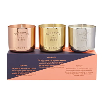 Scent Scented Candles Set by Tom Dixon