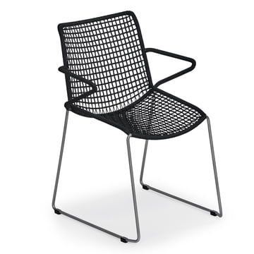 Slope Armchair by Weishäupl in black