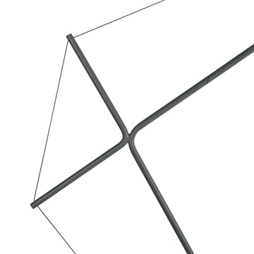 Elizabeth floor Lamp with Cable Wire and Angles