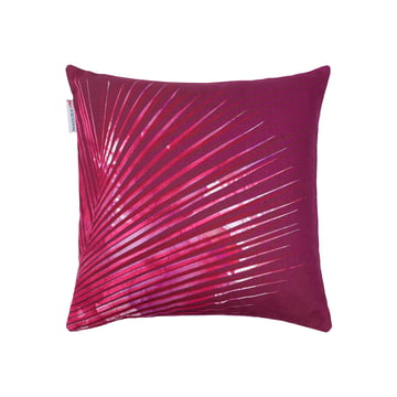 Red Edition - Hanoi Cushion, prune 40 x 40 cm