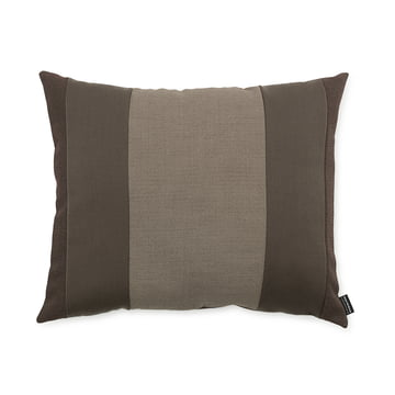 Line Cushion by Normann Copenhagen in the size 50 x 60 cm in the colour brown.