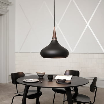 Orient Pendant Lamp above the dining table