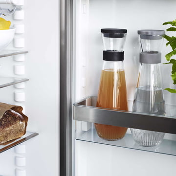Water Carafe in the Fridge