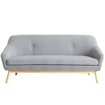 Peppy Sofa 2-seater from Woud with the Kvadrat fabric Hallingdal 130