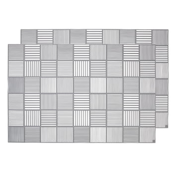 Nanna Ditzel Placemat 30 x 45 cm by Rosendahl in Grey
