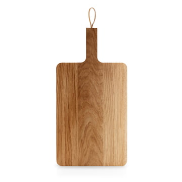 Nordic Kitchen Wooden Chopping Board with Leather Strap
