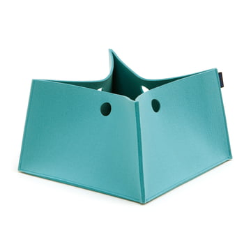 The Hey Sign - Big Box, S in pastell turquoise