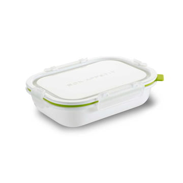 Rectangular Lunch Box in Small by Black + Blum