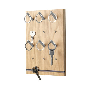 emform - Pin key rack, oak