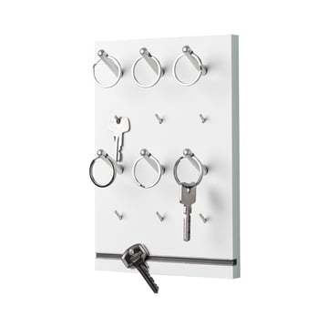 emform - Pin key rack, white