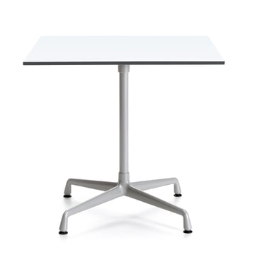 Contract Table Outdoor Square by Vitra in silver / white