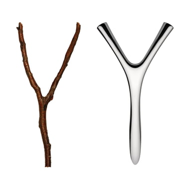 Virgula Divina bottle opener by Alessi