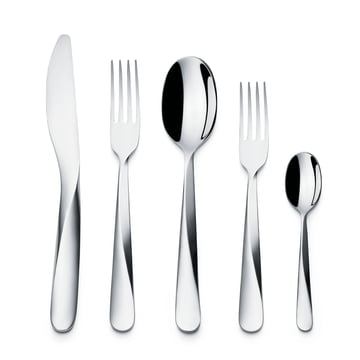 Giro cutlery set 5 pcs by Alessi