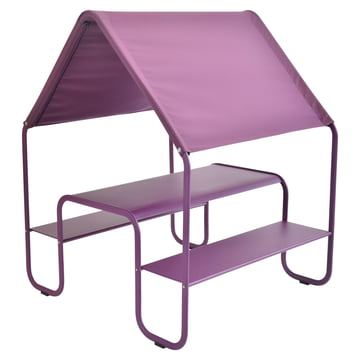 Children's Picnic Hut by Fermob in aubergine