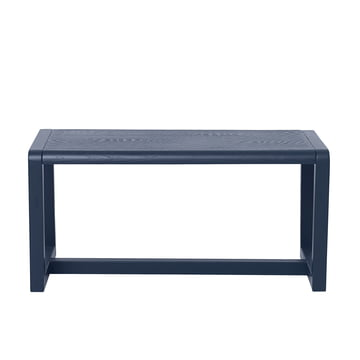 Little Architect Bench by ferm Living in Dark Blue